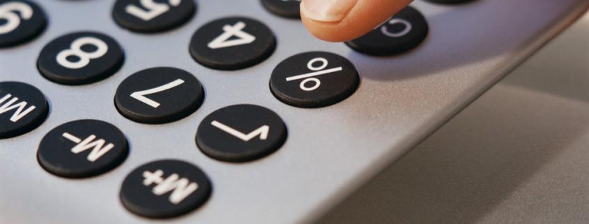 Taschenrechner und Verlustrechnung