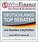 Award Who Finance